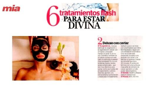 6 tratamientos flash para estar divina según la revista Mía